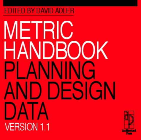 Metric Handbook CD-ROM Version 1.1: Planning and Design Data