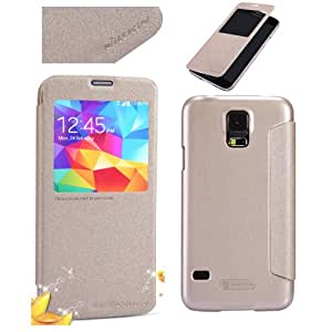 Nillkin Sparkle Leather Case for Samsung Galaxy S5 - Retail Packaging