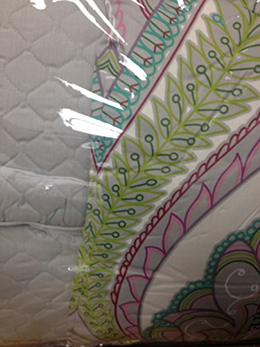 Pink Paisley Bedding 176810 front