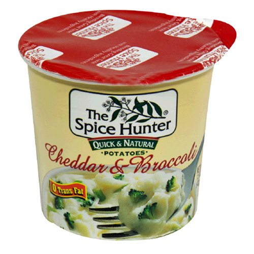 Spice Hunter Stuffed Potato Cup, With Broccoli And Cheddar, 1.5-Ounce Unit (Pack of 12)