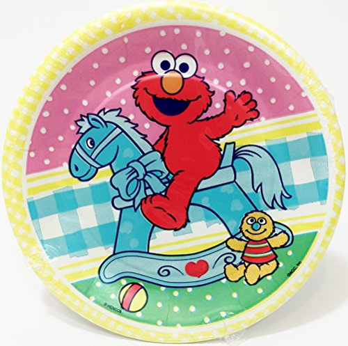 Baby Elmo Baby Shower Dessert Plates