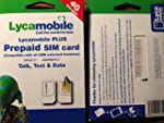 Lycamobile Plus USA Prepaid Sim Card...
