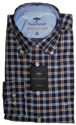 Fynch Hatton Casual Shirt 122-6100 (Large)