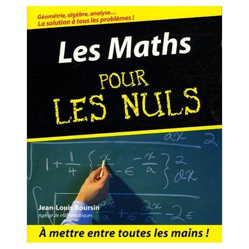 Maths Pour les Nuls