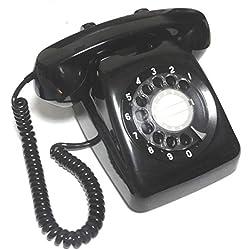 NTT 601-A2 ダイヤル式電話機 (黒電話)