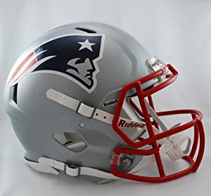 Buy Creative Sports Enterprises RDRSA-PATRIOTS New England Patriots Riddell Speed Revolution Full Size... by Riddell