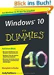 Windows 10 f�r Dummies