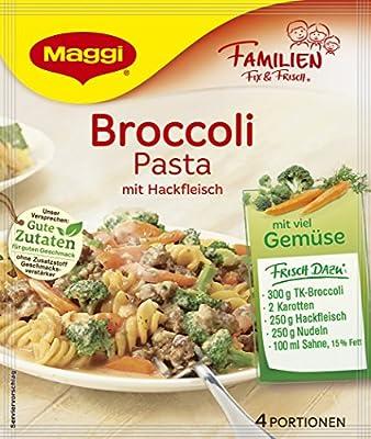 Maggi Familien Fix für Broccoli Pasta mit Hackfleisch, 19er Pack (19 x 41 g) von Maggi auf Gewürze Shop