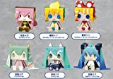 グッスマくじ 「初音ミク 2012 Winter Ver.」 G賞 グラフィグABS 全6種セット