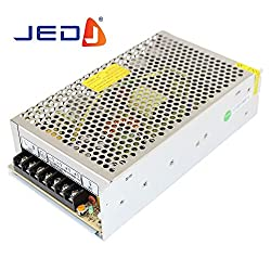 JED 12V 10Amp 120W Dc Power Supply Driver For Cctv And Led Strip Light Lamp 12 Volt 10A 120watt