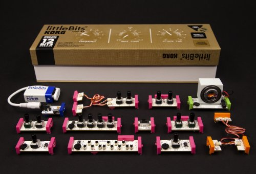 littleBits ブロックで組み立てる電子楽器 Synth Kit リトルビッツ シンセ・キット【国内正規品】