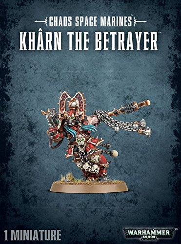 Warhammer 40,000 40K Chaos Space MArines Kharn the Betrayer (Chaos Space compare prices)