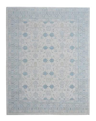 Kalaty One-of-a-Kind Pak Rug, Earth Tone/Blue, 8' 1 x 10' 6
