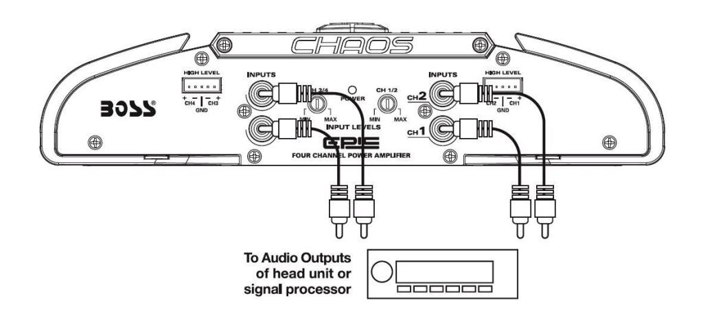 4 channel amp wiring diagram 4 wiring diagrams online 4 channel amp diagram 4 image wiring
