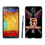 Customized Designer Sports Samsung Galaxy Note 3 Case Ncaa ACC Atlantic Coast Conference Florida State Seminoles 10 Cheap Phone Covers at Amazon.com