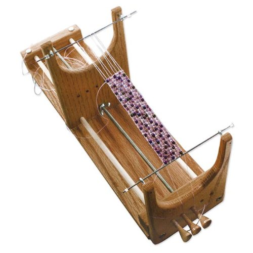 Ricks Beading Loom Kit - The Only Loom with Two Warp Threads to Deal with When Your Project Is Complete