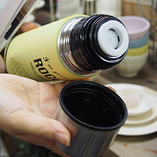 256(ニコロ) ROCCO Stainless Bottle 500 ロッコ ステンレスボトル YE