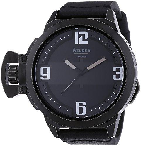 Welder Unisex-Armbanduhr Analog Quarz Leder K24 3605