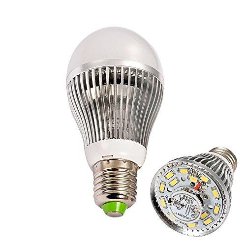 Ljy E27 7W White Light Radar Microwave Motion Body Induction & Light Sensor Led Lamp Bulb