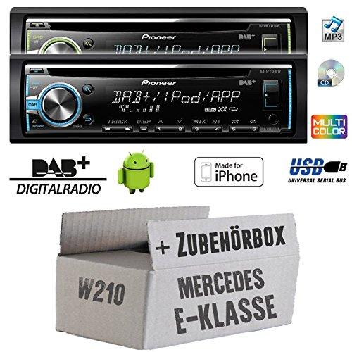 Cheap Mercedes E Class W210/Pioneer DEH X680Â Tuner/DAB Car Radio CD
