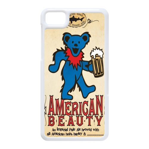 Generic Cell Phones Cover For Black Berry Z10 Case Customize Music Band Grateful Dead And Dancing Bears Hard Snap On Phone Cases front-866071