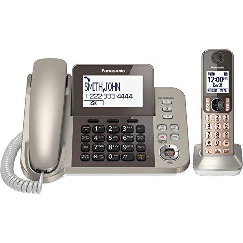 Panasonic KX-TGF350N Corded / Cordless Dect 1 Handset Landline Telephone (Panasonic Phones 1 Handset compare prices)