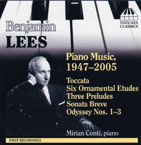 lees-piano-music-1947-2005-toccata-six-ornamental-etudes-three-preludes-sonata-breve-odyssey-nos-1-3