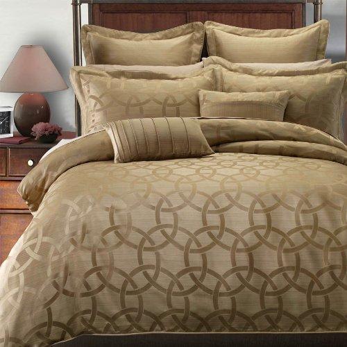 Egyptian Bedding Paulina 7PC California King Size Duvet cover set