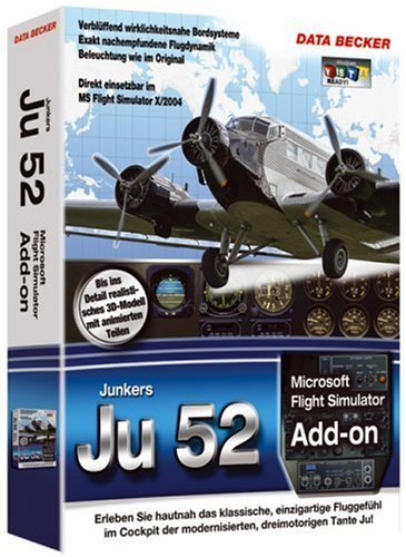Flight Simulator 2004 - Junkers Ju-52, PC