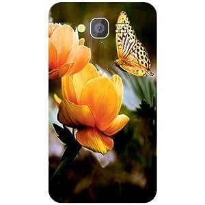 Via flowers Back Cover For Samsung Grand i9082 Sparkle Multi Color