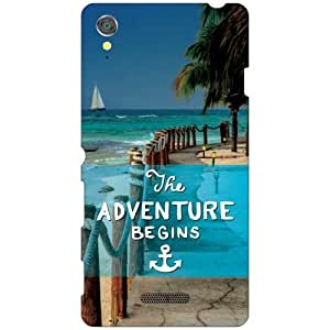 Printland Adventure Begins Phone Cover For Sony Xperia T3 D5102