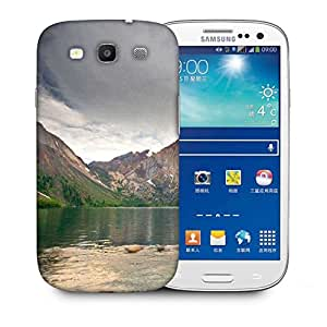 Snoogg River And Mountains Printed Protective Phone Back Case Cover For Samsung S3 / S III