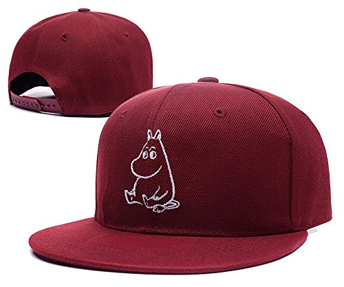 sianda-moomin-vallee-logo-broderie-casquette-snapback-hat-pac-taille-unique-red-hat