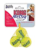 KONG Air KONG Air SqueakAIR Balls Dog Toy, Extra Small, Yellow, 3/pack
