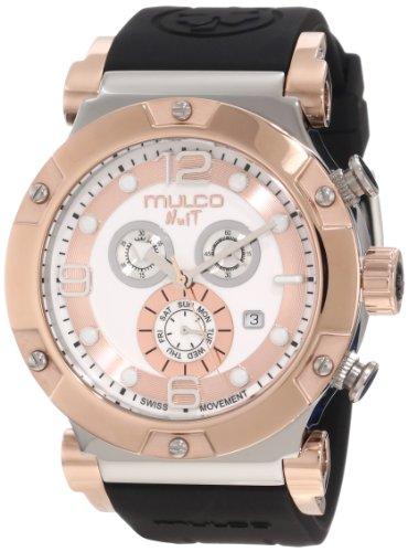 Mulco Unisex MW5-1623-021 Nuit Track Chronograph Swiss Movement Watch
