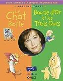 echange, troc Marlene Jobert - Le chat botté ; Boucle d'or et les Trois Ours (1CD audio)
