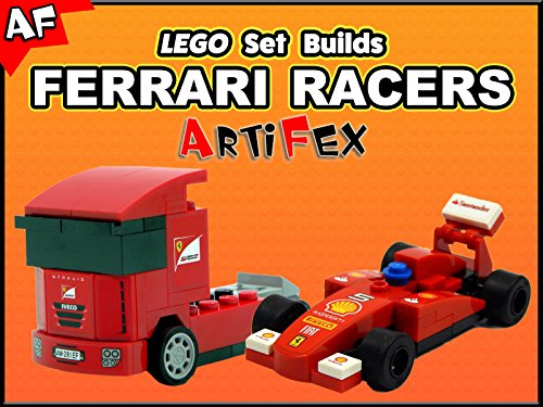 Clip: Lego Set Builds Ferrari Racers - Season 1