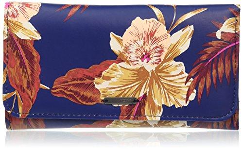 Roxy My J Wllt Bsq6, Color: Castaway Floral Blue Print, Size: 1SZ