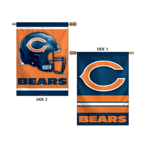 Reviews Chicago Bears Official NFL 28   x40    Banner Flag by Wincraft    Official Chicago Flag