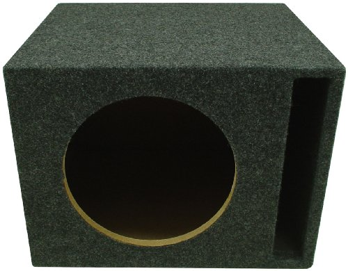 American Sound Connection H115V 1 X 15-Inch Vented Round Sub Box (Single)