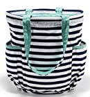 DF Thirty-one Bags Retro Metro® Bag in Navy Wave RV$55