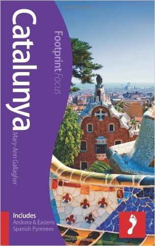 Catalunya Footprint Focus Guide: (includes Andorra & Eastern Spanish Pyrenees)