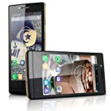 DOOGEE LATTE DG450 4.5'' Android 4.2.9 Unlocked 3G Smartphone -- IPS Capacitive Touchscreen Jellybean MTK6582 Quad Core 1.3Ghz Mobile Phone 1G RAM 4G ROM GPS Cellphone WIFI Bluetooth Innovative Voice Photos Wireless System Update Dual SIM Dual Standby fo