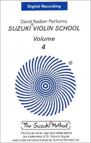 Suzuki Violin School, Vol 4: Digital Recording, Cassette