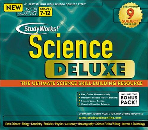 Studyworks Science Deluxe 5.0