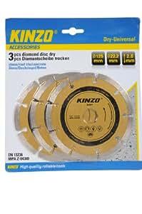 Kinzo 71759 Disque diamant Ø 125 mm
