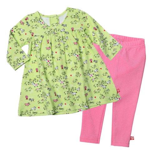 0-6 Months Unisex Baby Zutano Black Fleece Baby Leggings