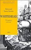 echange, troc Bertrand Saint-Sernin - Whitehead, un univers en essai