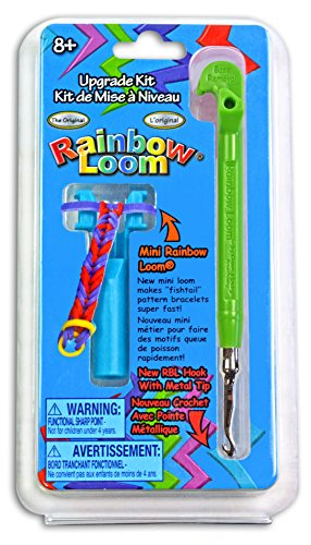 Rainbow Loom Upgrade Kit - Green Metal Hook