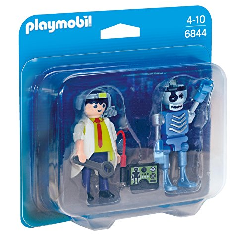 PLAYMOBIL® 6844 Scientist with Robot Duo Pack - NEW 2016 (Playmobil Robot compare prices)